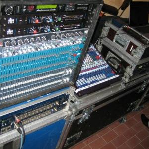 JED mediaservice: Vermietung BSS, dbx, Midas (RWE Lingen 21.10.2011)