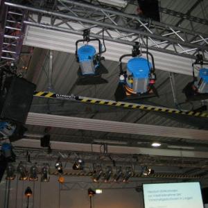 JED mediaservice: Vermietung Arri, Meyer Sound (RWE Lingen 21.10.2011)