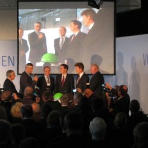 JED mediaservice: Vermietung Leinwand (RWE Lingen 21.10.2011)